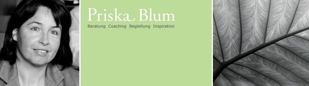 Priska Blum, Coaching & Beratung, Bewerbungscoaching, Beruf Berufung, Mediation, Luzern